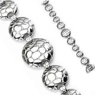 Bracelet homme gothique boucliers tortue