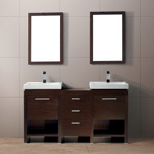 Smallest Double Sink Bathroom Vanity