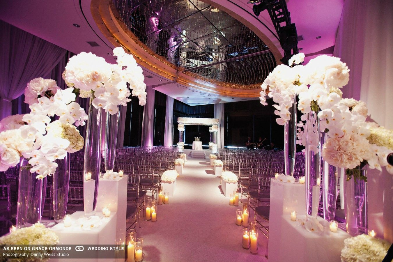 Luxury Wedding Indoor: Tantawan Bloom Floral Designer New York Luxury Wedding