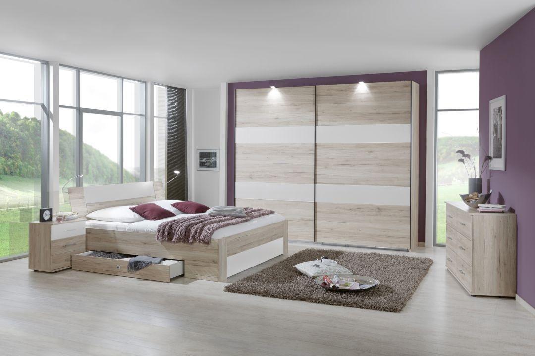 Enjoy \u2022\u2022 Bett mit Schubkästen 180 x 200 cm #Schlafzimmer #Bett - schlafzimmer set 180x200