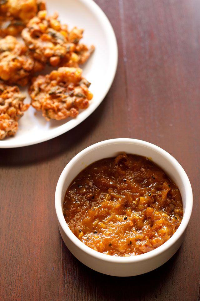 mango chutney, sweet and tangy mango chutney recipe