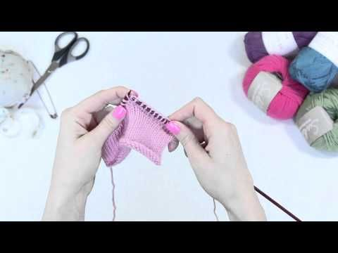 How To Make A Knit Stitch M1 Youtube Ukhka How To Knit