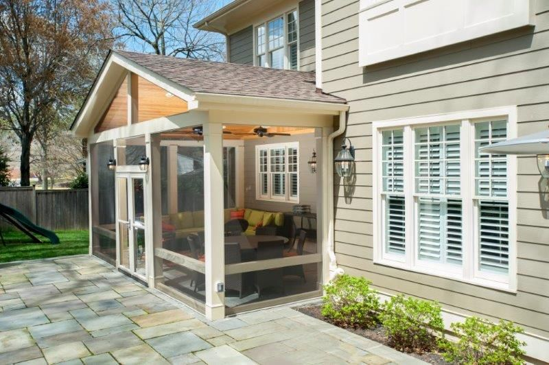 do you have to hire an architect to design a screened porch - Pretty Porches And Patios