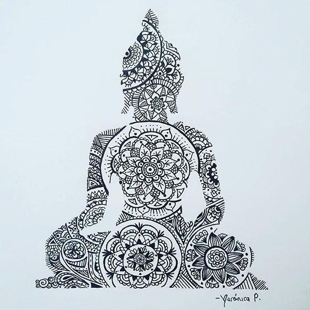 buddha by veronicap28 inspiration pinterest tattoo ideen buddha spr che und f r mama. Black Bedroom Furniture Sets. Home Design Ideas