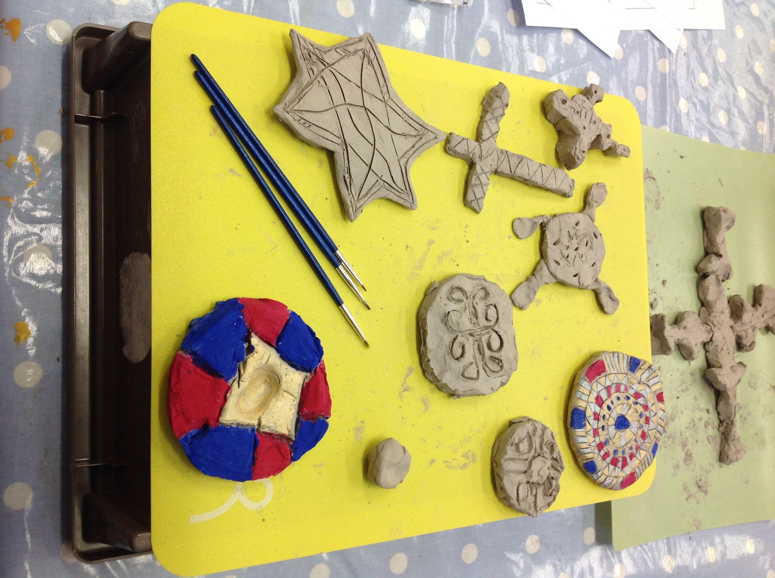 Anglo Saxon Art Activities