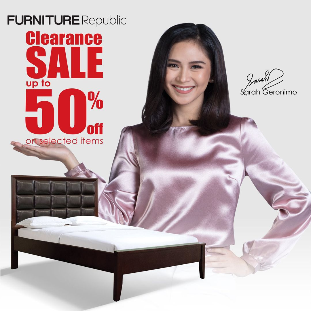 Furniture Republic Clearance Sale Up To 50% Off On