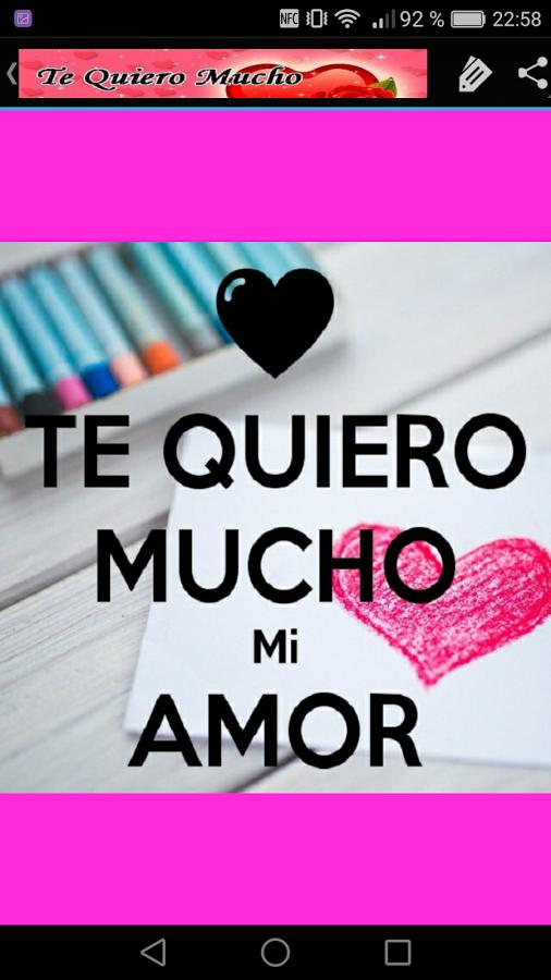 Image Result For Te Quiero Mucho Mi Amor Amor Pinterest Love