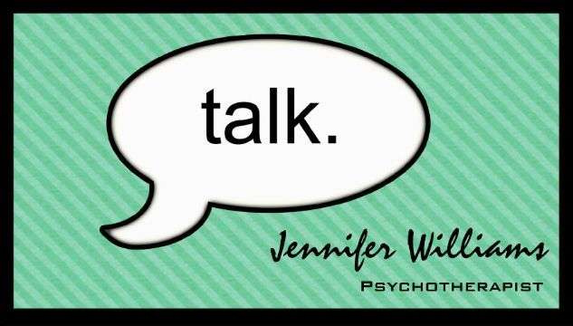 Talk speech bubble green diagonal stripes psychotherapist business talk speech bubble green diagonal stripes psychotherapist business cards httpzazzle reheart Gallery