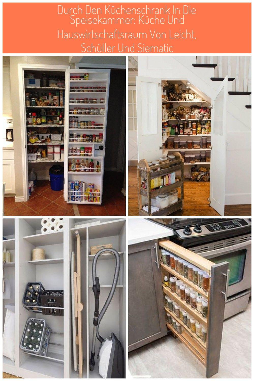 Diy Door Spice Rack For Pantry Look At All That Extra Storage Stauraum Unter Treppe 65 Ideen Fr Garderob In 2020 Spice Rack Pantry Kitchen Accessories Decor Diy Door