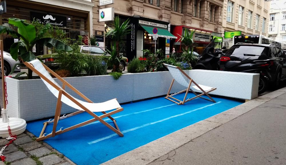 CityMaking ! Wien Parklets Parklet