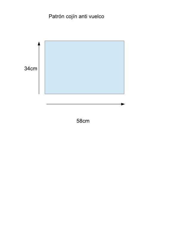 Patrón cojin antivuelco | cojines | Baby sewing, Baby y Sewing