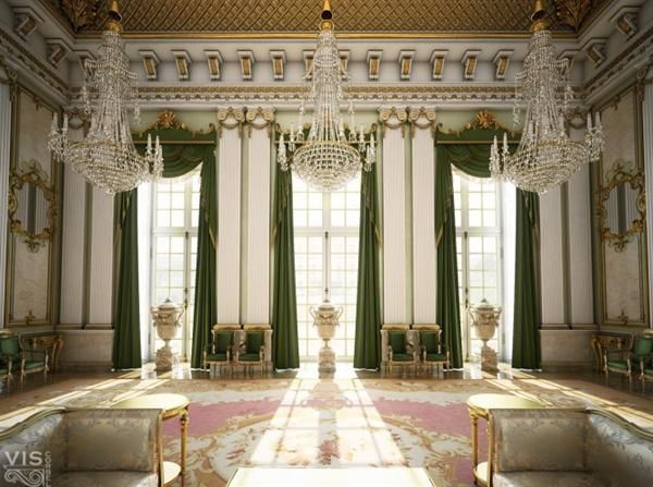 In Defense Of The Decorators Designers Frustrated By New York Times Decorator Palace InteriorInterior WindowsGreen