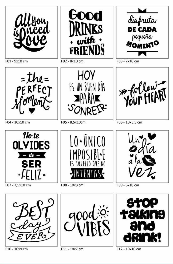 Frases Positive Doodle