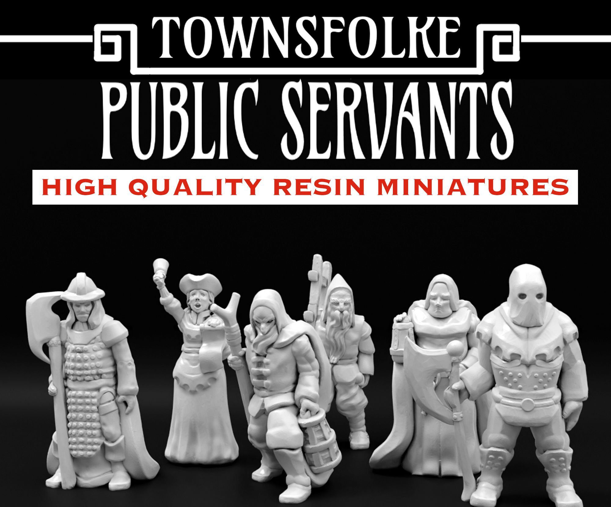 Characters or NPC/'s Dungeons and Dragons Townsfolke Entrepreneurs