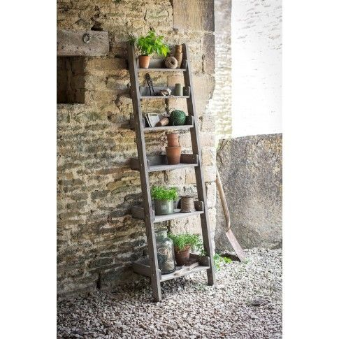 Garden Trading   Aldsworth Shelf Ladder · Outdoor ShelvesOak ...