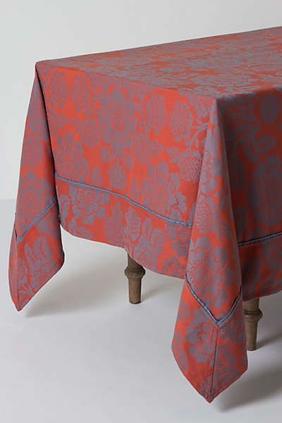 Anthropologie Magnolia Tablecloth Tablecloth Dining Table