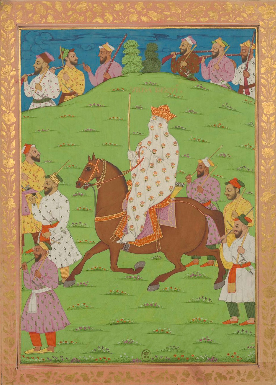 Urdu-Begi (woman superintendent of harem camp), Mughal Empire   Mughal paintings, Mughal miniature paintings, Mughal empire