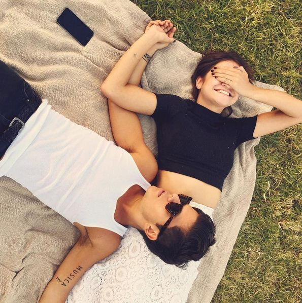 Elegant romance, cute couple, relationship goals, prom, kiss, love, tumblr, grunge, hipster, aesthetic, boyfriend, girlfriend, teen couple, young love maia mitchell and rudy mancuso