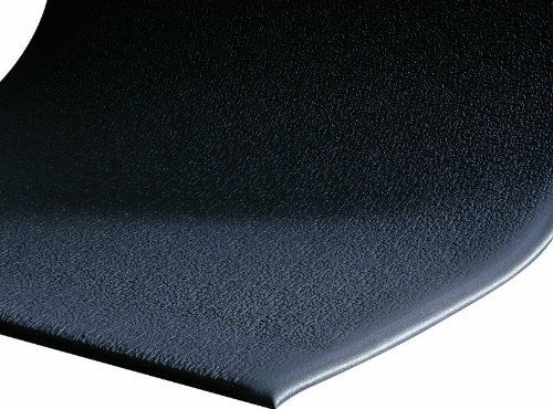 Andersen 910 Charcoal Pvc Foam Sure Cushion Texture Anti Fatigue Mat 5 Length X 3 Width X 3 8 Thick For Dry Area By Anti Fatigue Mat Noise Levels Door Mat