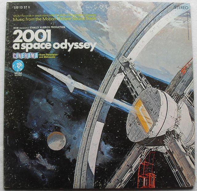 """2001: A Space Odyssey"" (1968) original motion picture soundtrack. #album #cover #music #classical #film"