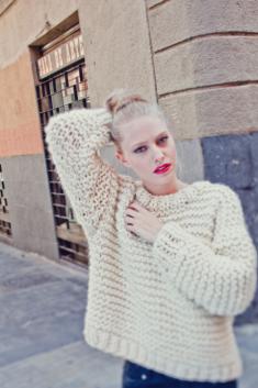 NOLITA SWEATER, kit tricot GROSSE LAINE 100% naturelle Pérou