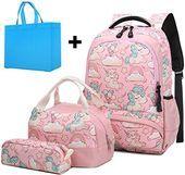Photo of Die perfekten Girls School Rucksäcke Set Cute Unicorn Rucksack mit Lunch Box Penc …