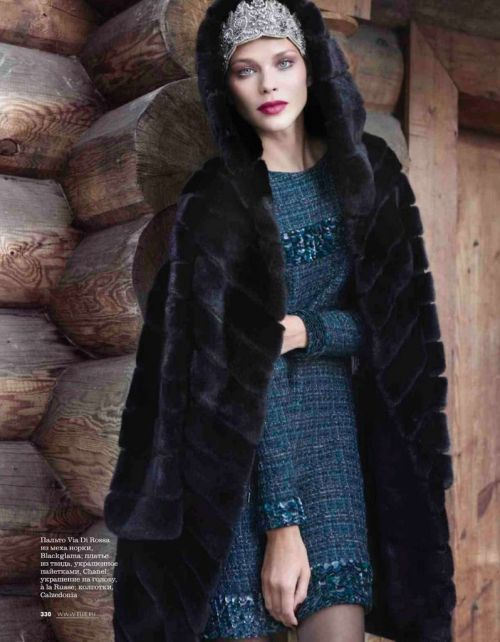 russian style Vogue