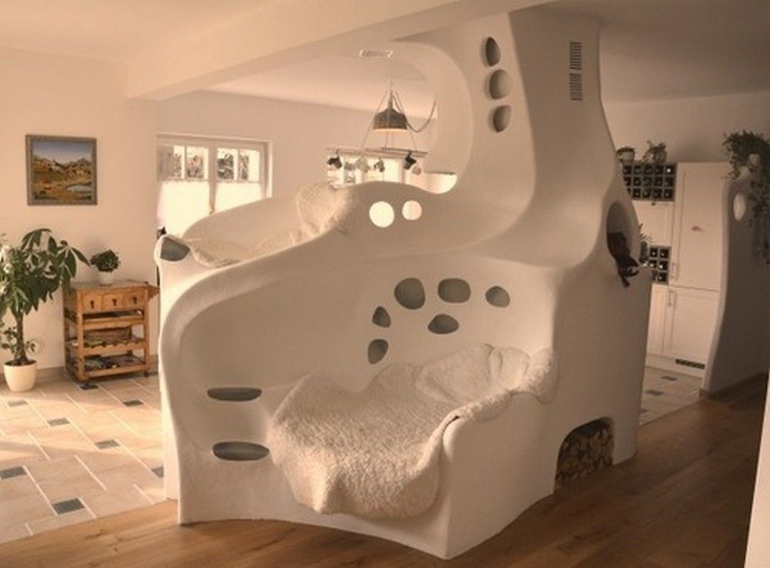 awesome Cob House Interior Design Ideas: 99 Stunning Photos http ...