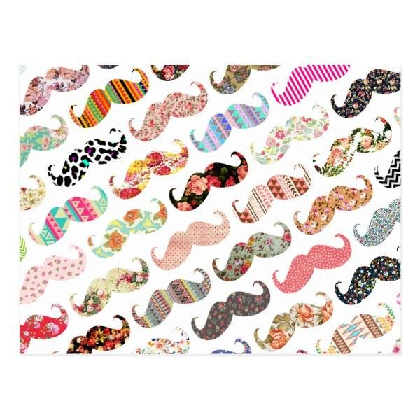 http://ift.tt/2uHJcBL Shop https://goo.gl/6rkMtL   Funny Girly Colorful Patterns Mustaches Postcard    A funny girly floral aztec stripes polka dots colorful pattern mustaches.A cool retro design with a geek 80s funny  mustaches on white background. The perfect humor gift idea for him...  Go To Store  https://goo.gl/6rkMtL  #80S #Aztec #Fashion #Floral #Funny #Geek #Mustache #Mustaches #PolkaDots #Srtipes http://ift.tt/2uHJcBL
