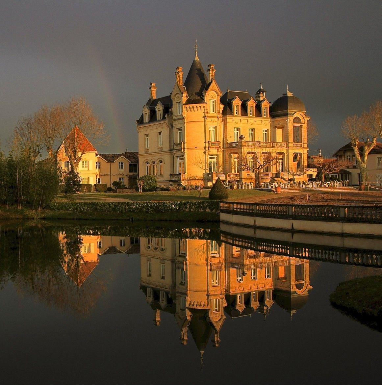 Chateau Hotel Grand Barrail. St. Emilion France Jeff