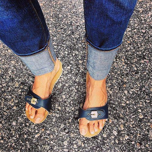 a430a1dd207 Instagram Old School Dr Scholls Wooden Sandals