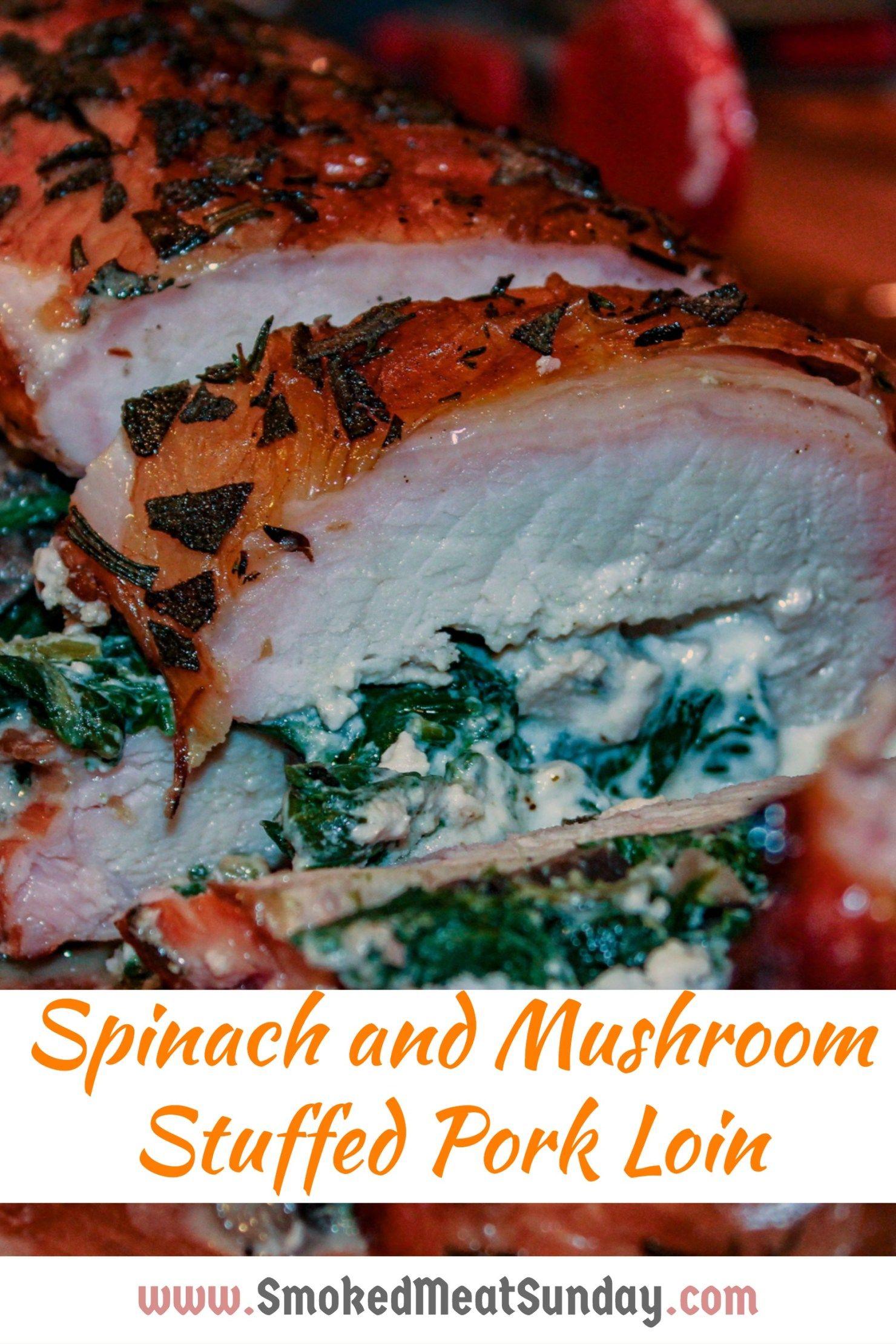 Pork Roast Recipes Traeger : roast, recipes, traeger, Smoked, Stuffed, Roast, (click, Recipe), Recipes,