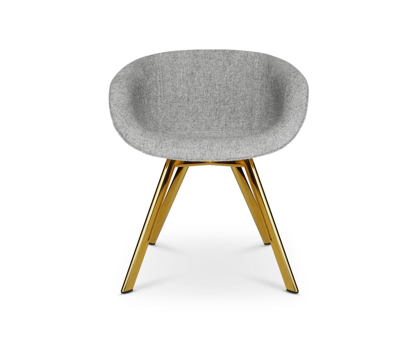 Scoop Chair Low Back Brass Leg Hallingdal 65 Tom Dixon Hochauflosende Bilder Polster