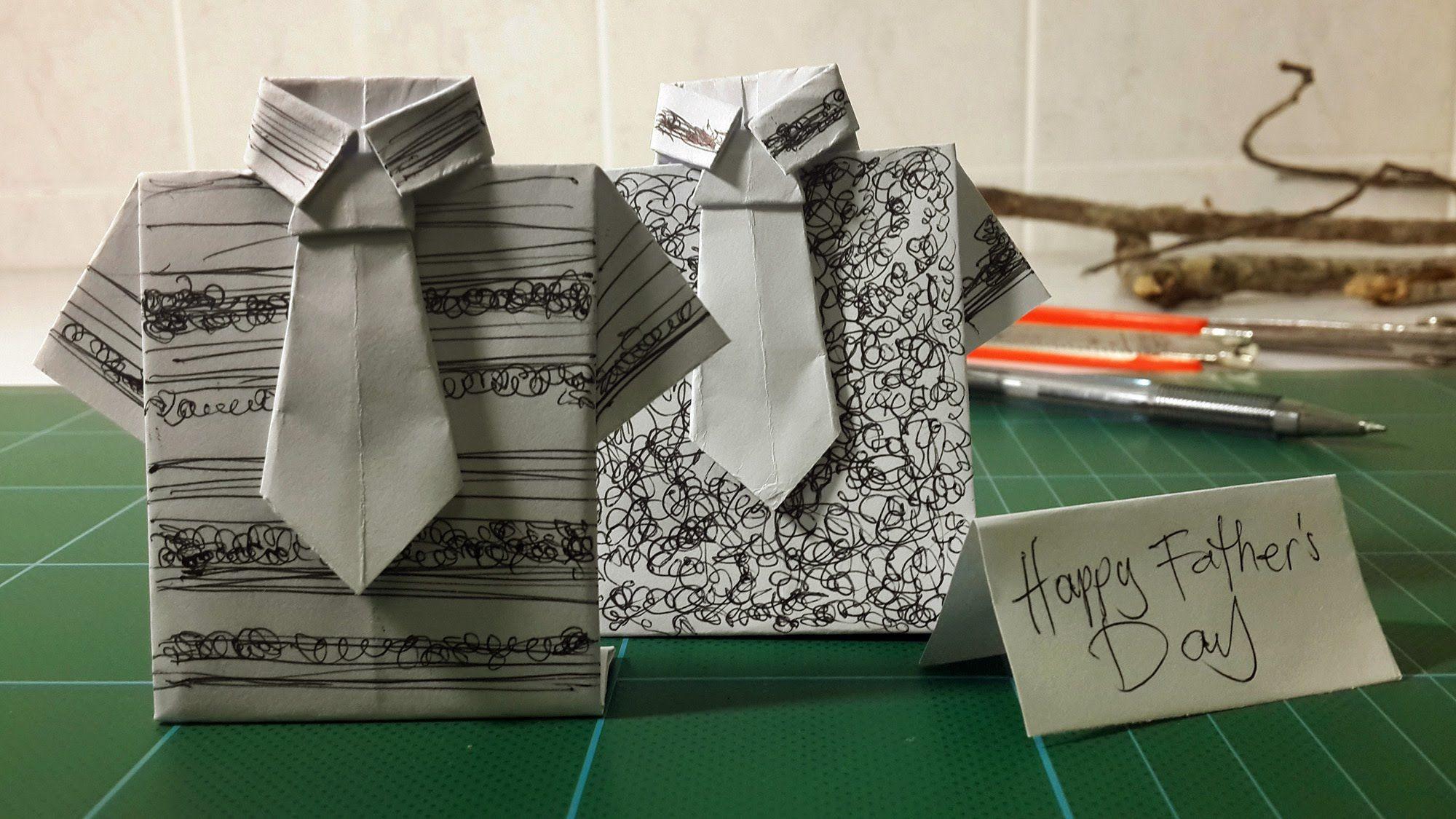 оригами открытка для мужчины блюдо белокочанной
