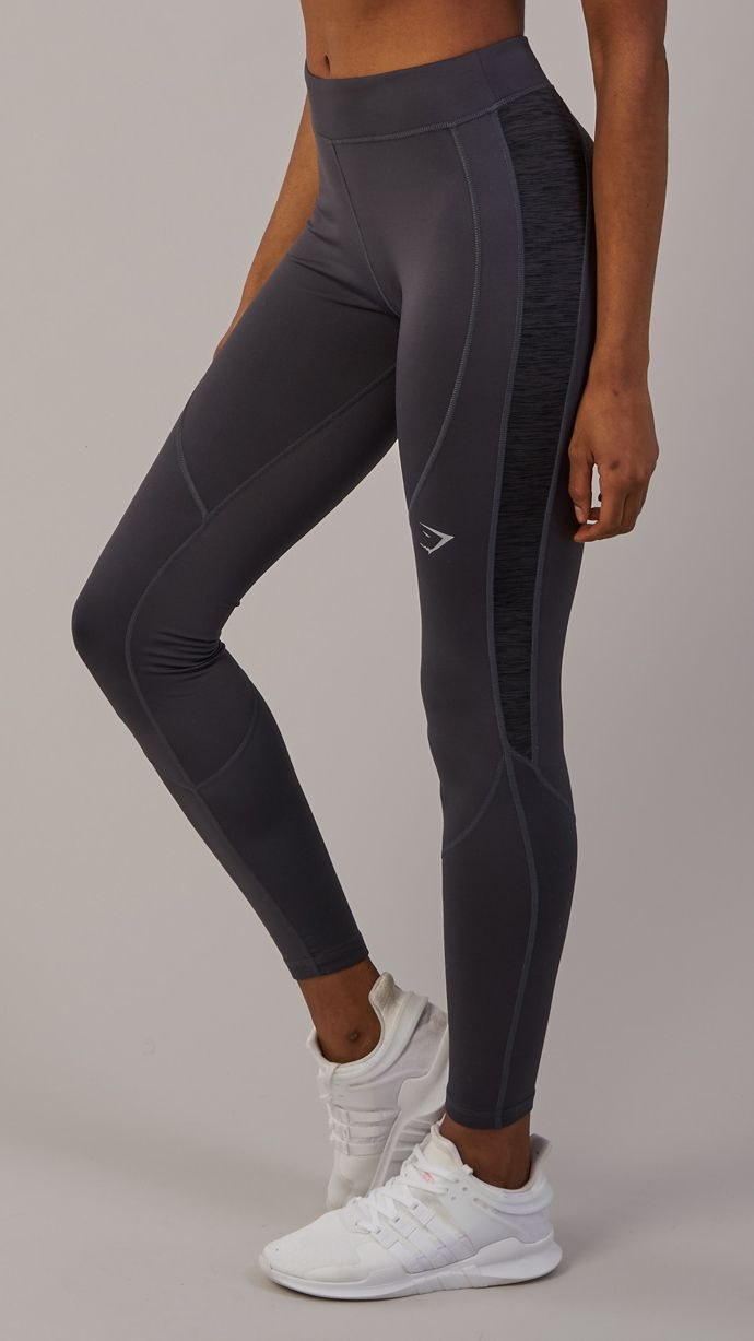 0738e6dd Fully reflective seams, and a reflective logo on both the front and back  ensure you stay visible and safe in the Winter Running Leggings.
