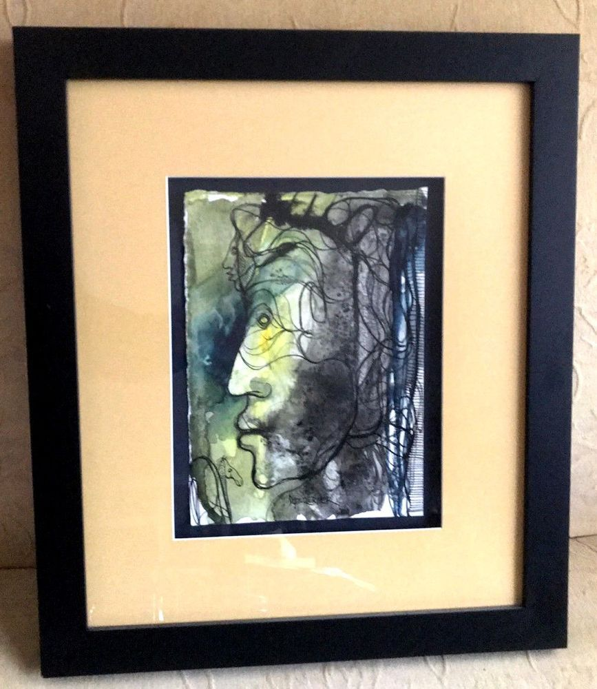 Vicente Dopico Lerner Painting Watercolor Arte Cubano Fine Cuban Art