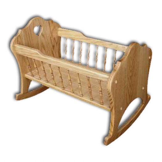 amish wooden cradle - Google Search
