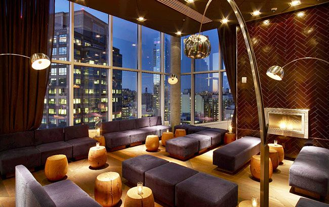10 Sexiest Hotel Bars In New York City