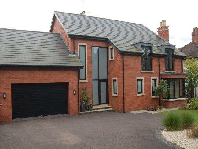 black garage door red brick : Garage Design Ideas And More ...