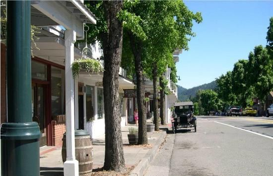 Main Street Weaverville Ca By Jeanne M Co Owner Of Hotel Emporium