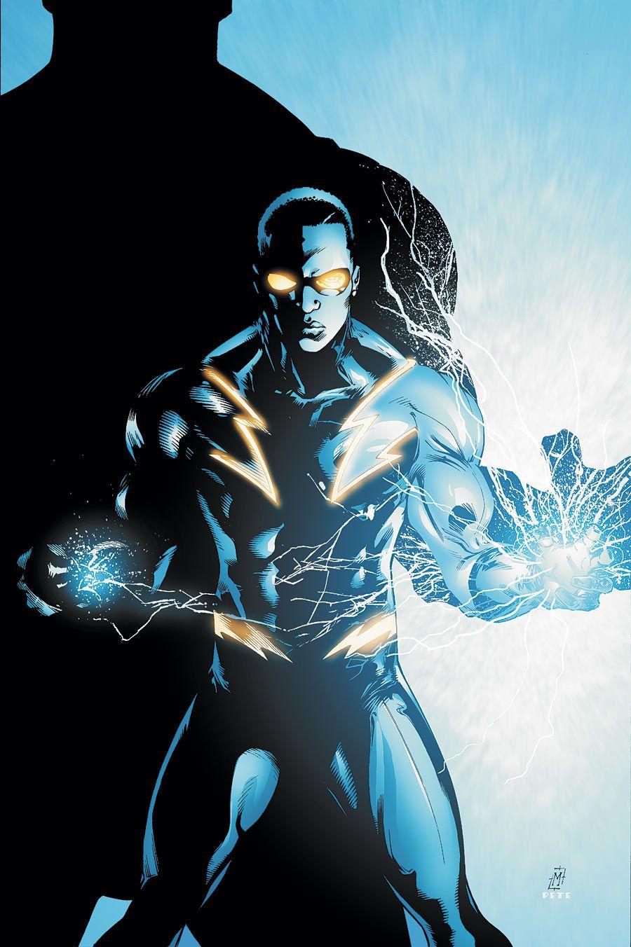 Black Lightning Character Black Comics Black Lightning Female Superheroes And Villains