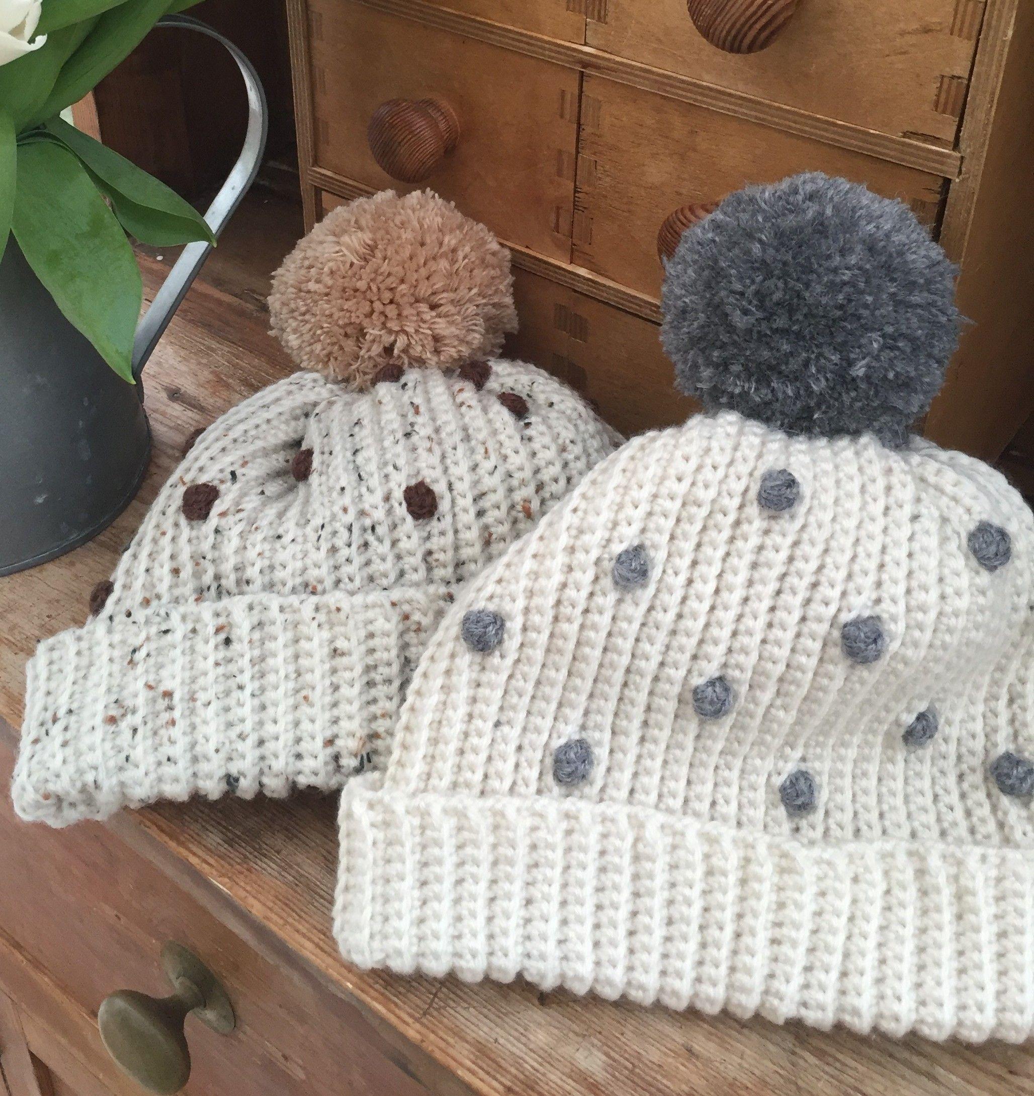 Crochet Club: Ladies Bobbly Bobble Hat | Gorro tejido, Gorros y Tejido