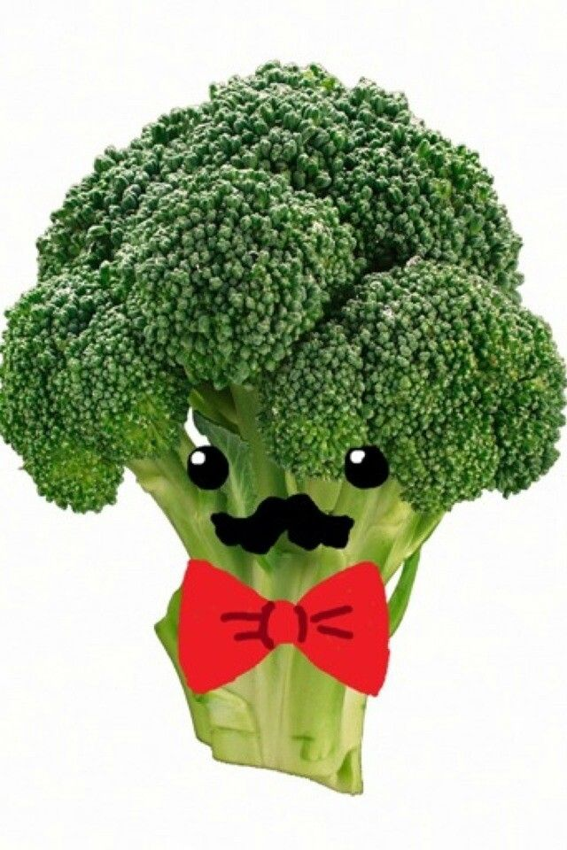 Broccoli the mustache