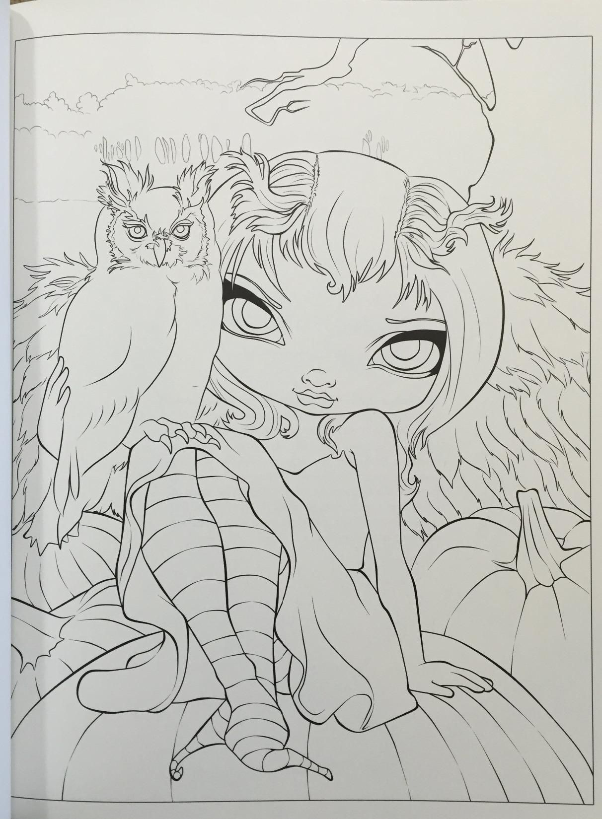 jasmine becket griffith coloring pages Amazon.com: iiiireader's review of Jasmine Becket Griffith  jasmine becket griffith coloring pages
