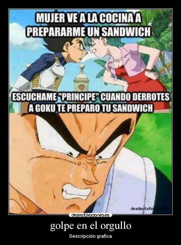 Memes De Dragon Ball Z Que Te Haran Reir Si Eres Fan Memes Divertidos Meme Divertido Memes