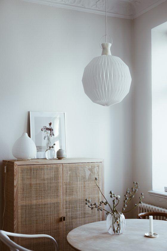 Dining Room, Ikea Stockholm Cabinet. Minimalist ...