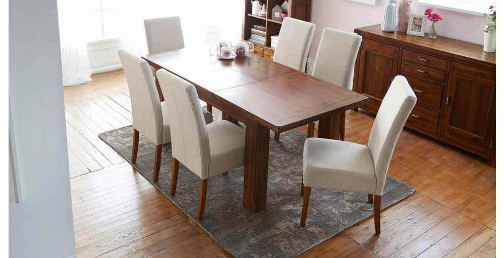 Shiraz Small Extending Dining Table Set Of 4 Tunis Dark Leg