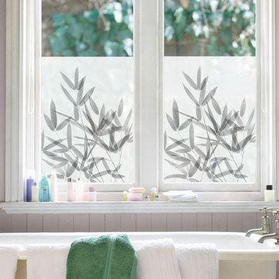 Bamboo window shade stickers vinilos decorativos en puertas y separadores - Adorno autoadhesivo ...