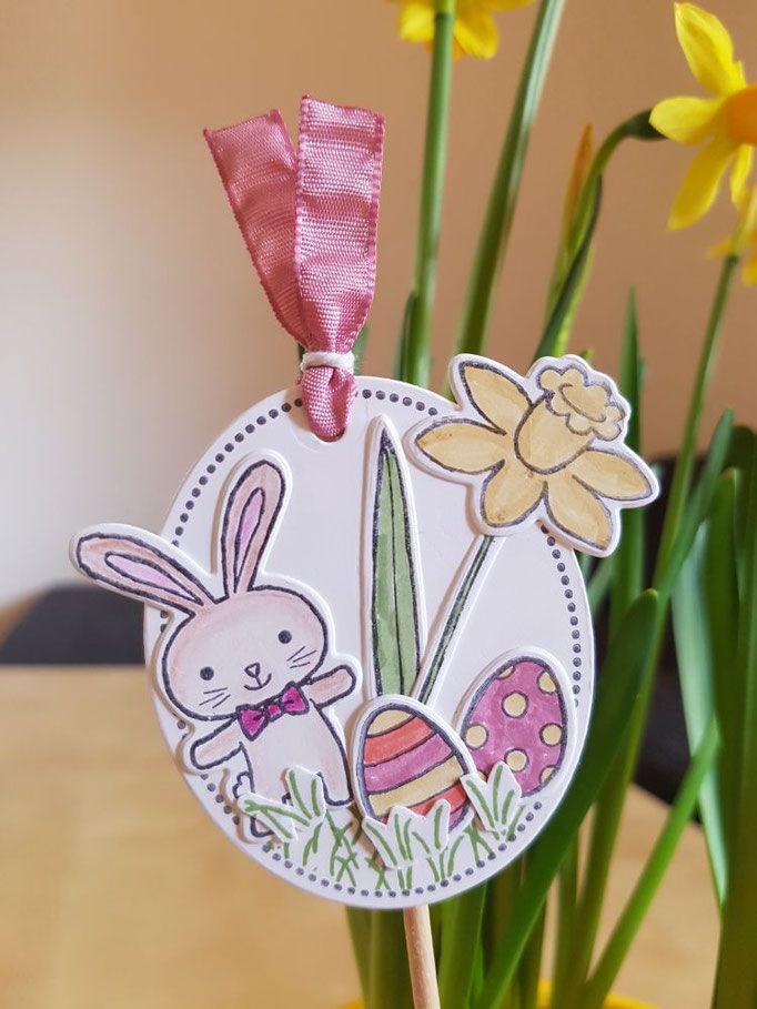Karte, Blumendeko und Gastgeschenke   Ostern   Easter ...