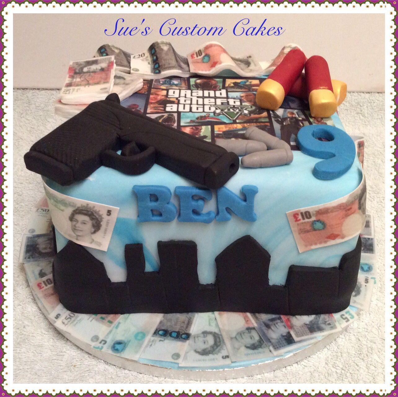 Gta Birthday Cake Toddler Party Ideas Themes Cakes Jpg 1284x1281